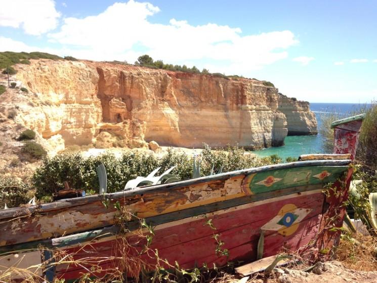 Campismo Selvagem no Algarve.