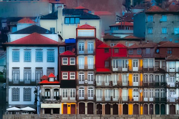 Oporto, the mystery woman.