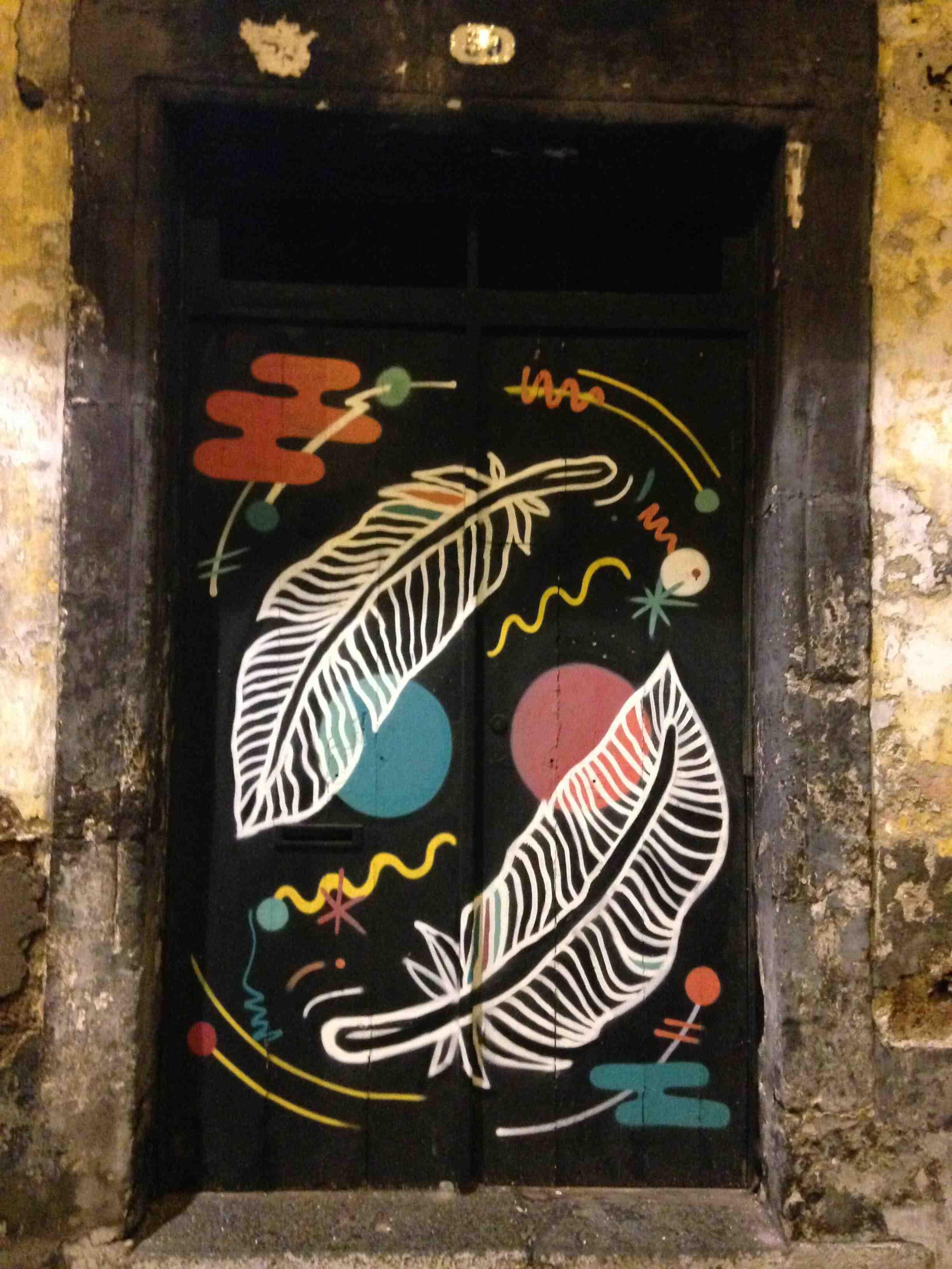 arte urbana porta ponta delgada