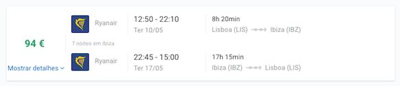Lisboa Ibiza