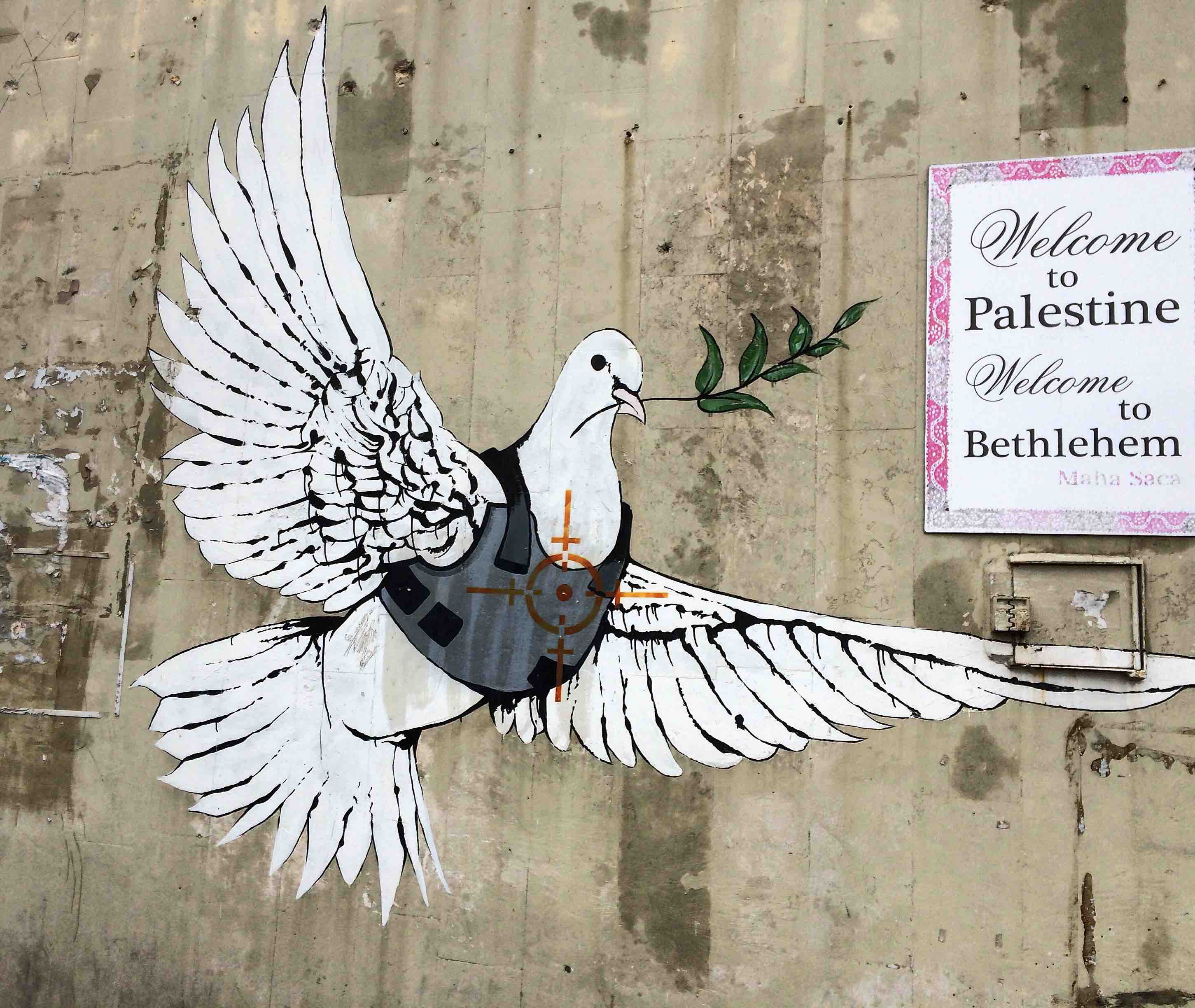 banksy palestina